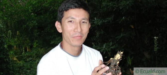 Thankas du peintre Sonam Lama