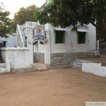 A l'ashram à Tirunvannamalai