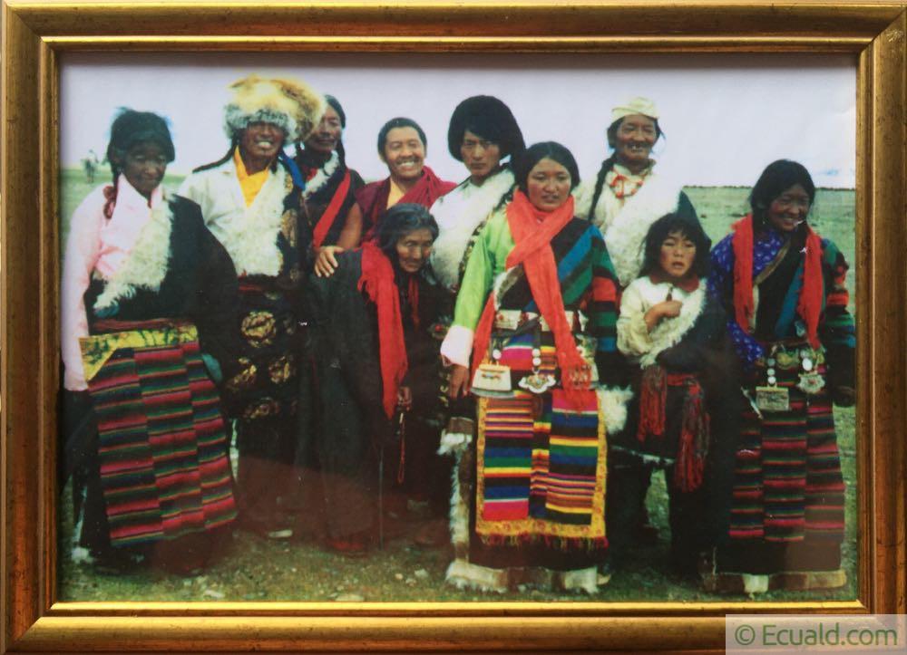 Lama Tenpa, sa maman et sa famille