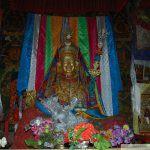 Extraordinaire statue de Gourou Rinpoché
