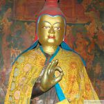Statue de Longchenpa ou de Vimalamitra