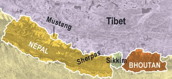 Situation Sikkim