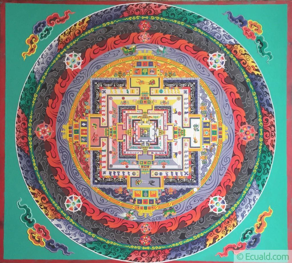 mandala de Kalachakra à Ralang